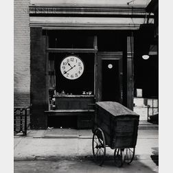 Berenice Abbott (American, 1898-1991)      Repair Shop of Christopher Street