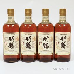 Nikka Taketsuru Pure Malt 17 Years Old, 4 750ml bottles