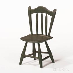 Miniature Green-painted Windsor Chair