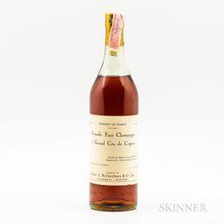 Domaine de la Voute Grande Fine Champagne Cognac NV, 1 bottle Spirits cannot be shipped. Please see http://bit.ly/sk-spirits for mor...