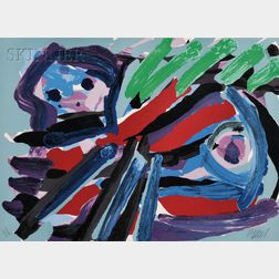 Karel Appel (Dutch, 1921-2006)      Untitled (Animal)