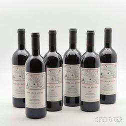 Galardi Terra di Lavoro 2007, 6 bottles (oc)