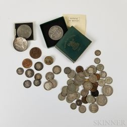 Group of English Coins