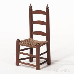 Miniature Cherry Slat-back Side Chair