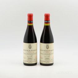 Comte Georges de Vogue Bonnes Mares 1988, 2 bottles