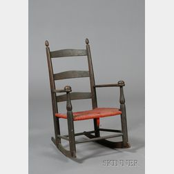 """Shaker Child's Production Rocking Armchair """"0,"""""""