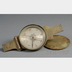 Brass Surveying Compass, E & G. W. Blunt