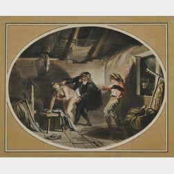 Johann Heinrich Ramberg (German, 1763-1840)      La Jument du compère Pierre
