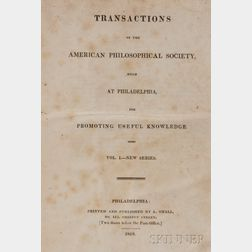 Transactions of th American Philosophical Society, Held at Philadelphia, for Promoting Useful Knowledge