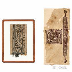Two Coptic Panels