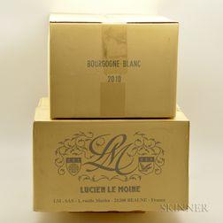 Le Moine Bourgogne Blanc 2010, 12 bottles (2 x oc)