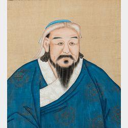 Bust Portrait of a Mongolian Ruler