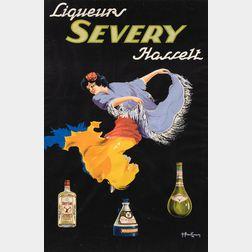 Roger Berckmans (Belgian, b. 1900)      Liqueurs Severy Hassett