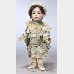 Gebruder Heubach Bisque Head Toddler Girl