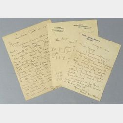 Two Autograph Letters from Thomas Watson