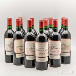 Chateau Lynch Bages 1982, 11 bottles