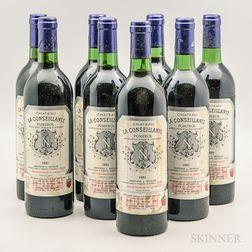 Chateau La Conseillante 1981, 8 bottles