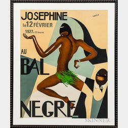 After Paul Colin (French, 1892-1985)      Josephine au Bal Nègre