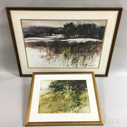 Two Framed Murray Wentworth Works