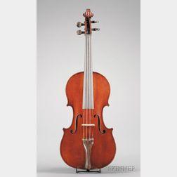 French Violin, Gustave Bernardel, Paris, 1899