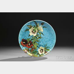 Theodore Deck Faience Charger