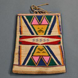Nez Perce Cornhusk Bag