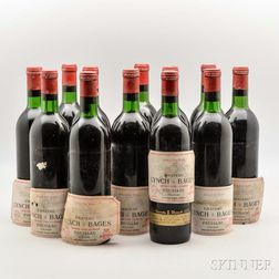 Chateau Lynch Bages 1970, 12 bottles
