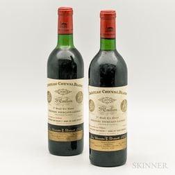 Chateau Cheval Blanc 1970, 2 bottles