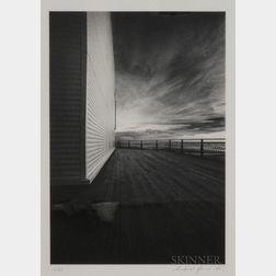 Michael Kenna (British, b. 1953)      Blackpool Pier, Skegness, Lancashire, England