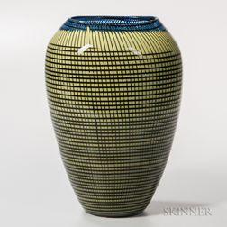 Lino Tagliapietra Effetre International Art Glass Vase