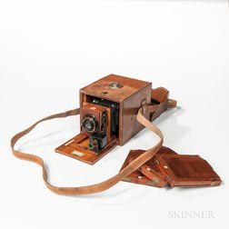 "Rare S.J. Levi & Co. ""The Pullman"" Camera"