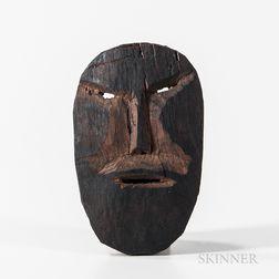 Small Wood Eskimo Mask