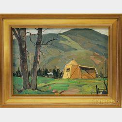 John F. Enser (American, 1898-1968)      Our Painting Camp, Cape Breton Island