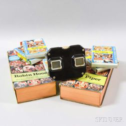 Radex Stereo Viewer and Seven Boxed Stories.     Estimate $100-200