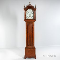 Pine Tall Case Clock