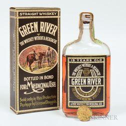 Mixed Green River, 1 pint bottle (oc)