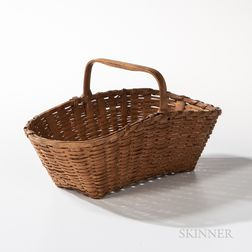 Shaker Shaped Splint Basket