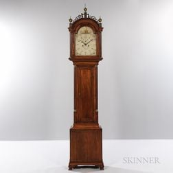 Inlaid Mahogany Tall Clock