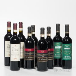 Mixed Brunello di Montalcinos, 9 bottles