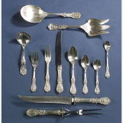 """Reed & Barton Sterling """"Francis I"""" Partial Flatware Service"""