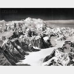 Bradford Washburn (American, 1910-2007)      Two Alaskan Landscapes: Mineral Spring NE of Copper Center, Alaska