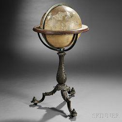 H.B. Nims & Co. 16-inch Terrestrial Library Globe