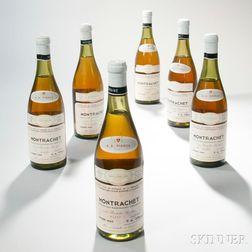 Domaine de la Romanee Conti Montrachet 1969, 6 bottles