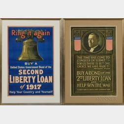Two Framed WWI Liberty Bond Posters