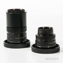 Two Leitz Elmarit-R Lenses