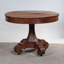Classical Mahogany Center Table