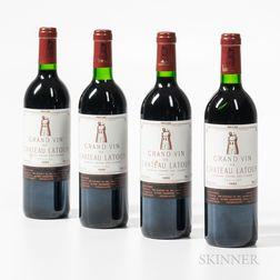 Chateau Latour 1989, 4 bottles