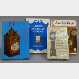 Four Titles on American Clocks and Clockmakers