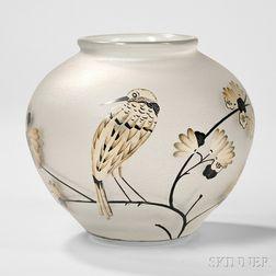 Daum Nancy Glass Bowl