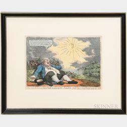 Three Framed 19th Century Political Comics